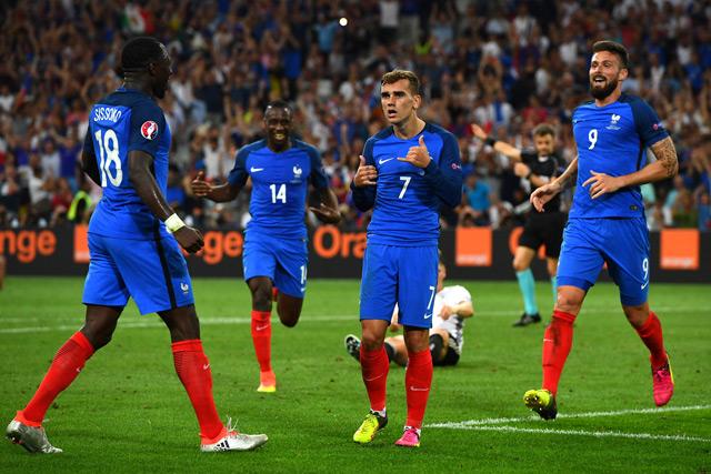 ผลการค้นหารูปภาพสำหรับ ทีมฝรั่งเศส ยูโร 2016