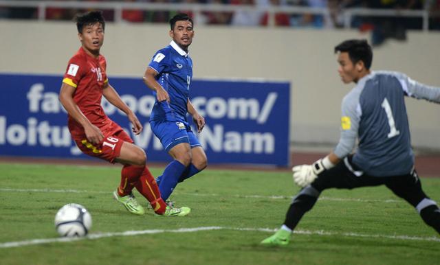 รีวิวฟุตบอลไทย 2015 ไทย เวียดนาม