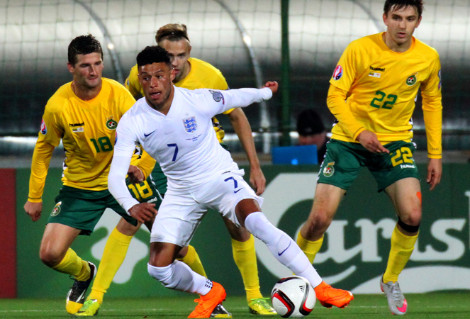 ลิทัวเนีย 0-3 อังกฤษ : เทพรอบคัดเลือก อังกฤษคว้าชัย 10 นัดรวด