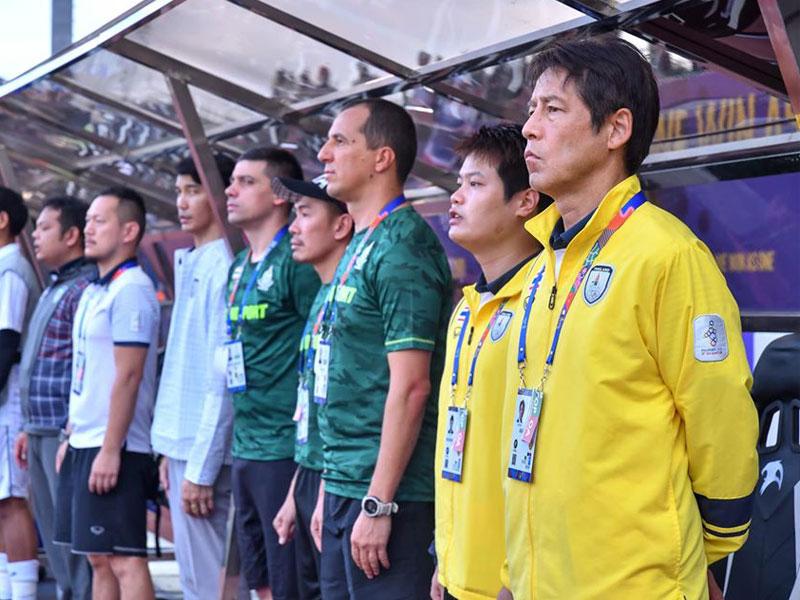 อากิระ นิชิโนะ น้อมรับผิด ทีมชาติไทย ตกรอบแรก ซีเกมส์ 2019