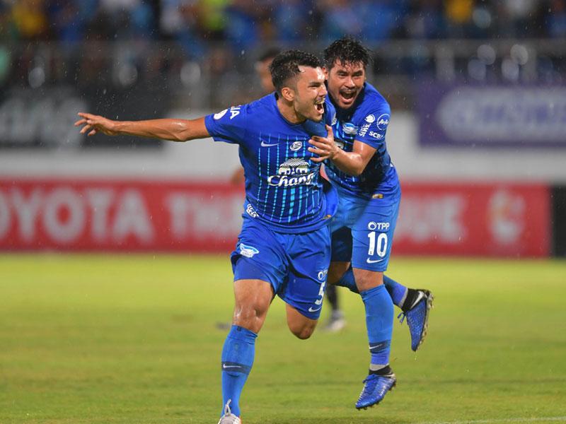ไทยลีก : ชลบุรี เอฟซี 2-0 เอสซีจี เมืองทอง ยูไนเต็ด