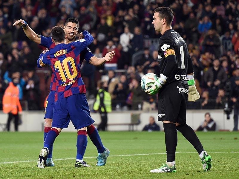 ลา ลีกา สเปน : บาร์เซโลนา 5-2 มายอร์ก้า