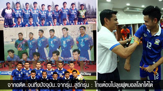 ย้อนสถิติทีมชาติไทยในฟุตบอลโลกรอบคัดเลือก