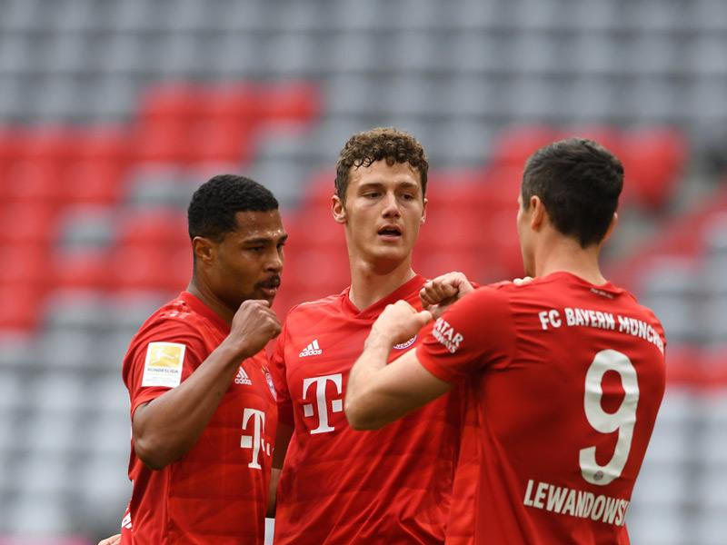 บุนเดสลีกา เยอรมนี : บาเยิร์น 5-0 ดุสเซลดอร์ฟ