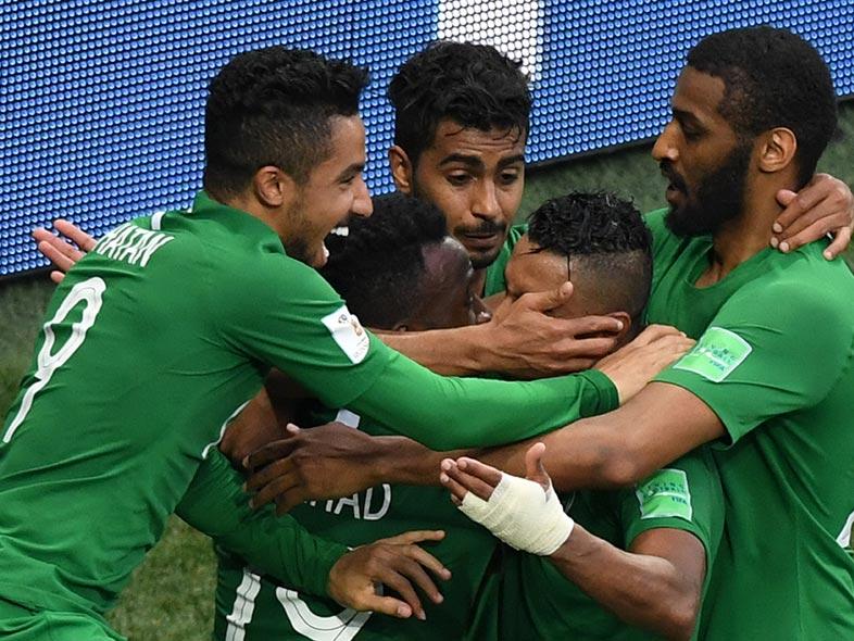 ฟุตบอลโลก 2018 : ซาอุดีอาระเบีย 2-1 อียิปต์