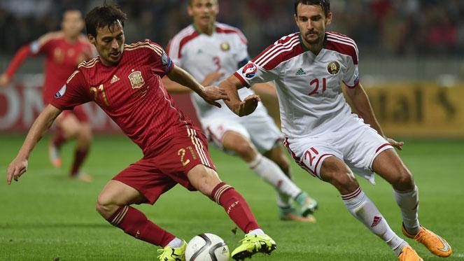 เบลารุส 0-1 สเปน : กระทิงเฉือนหืด