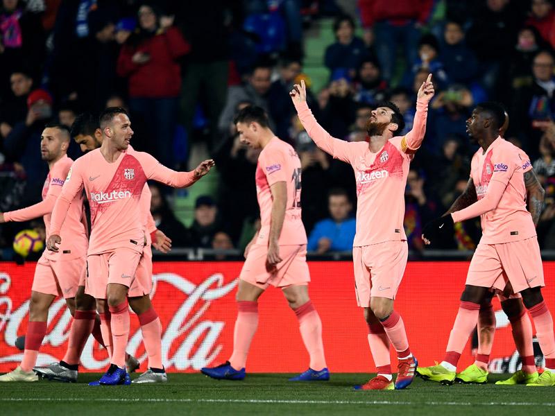 ลา ลีกา สเปน : เคตาเฟ่ 1-2 บาร์เซโลน่า