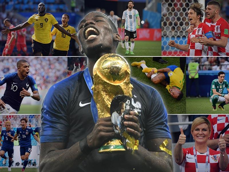 รวมสถิติฟุตบอลโลก 2018 : ให้ตัวเลขเล่าเรื่อง