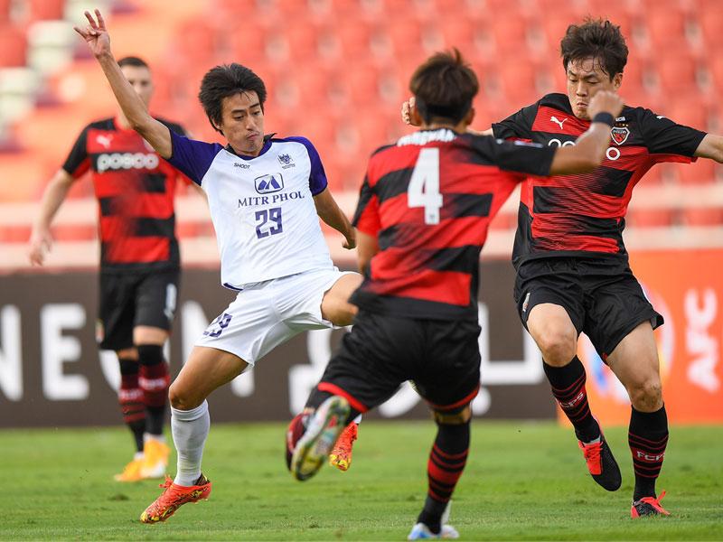 เอเอฟซี แชมเปี้ยนส์ ลีก : โปฮัง สตีลเลอร์ส 2-0 ราชบุรี