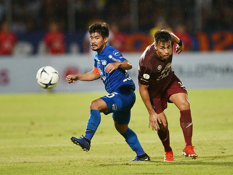 ไทยลีก : ชลบุรี เอฟซี 1-0 บุรีรัมย์ ยูไนเต็ด