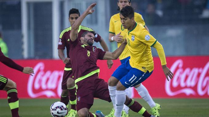 บราซิล 2-1 เวเนซุเอลา : แซมบ้าคว้าแชมป์กลุ่ม