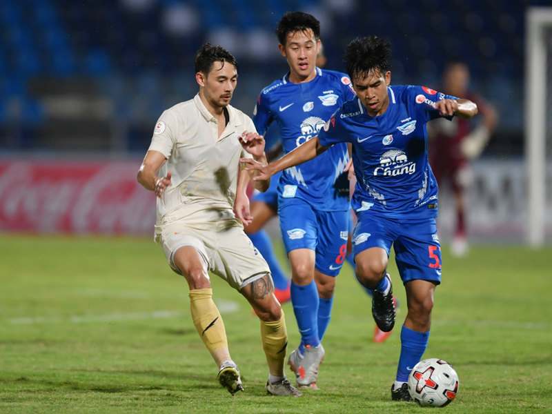 ไทยลีก : ชลบุรี เอฟซี 0-2 บุรีรัมย์ ยูไนเต็ด