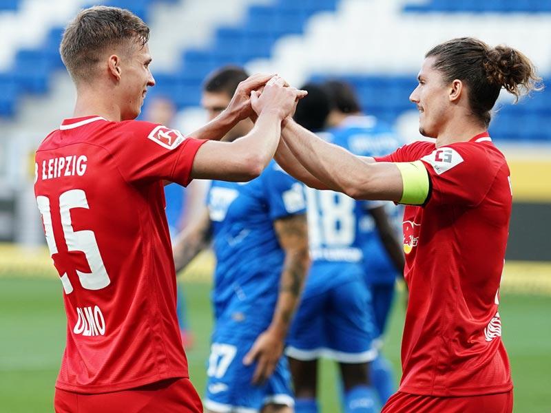 บุนเดสลีกา เยอรมนี : โฮฟเฟ่นไฮม์ 0-2 ไลป์ซิก