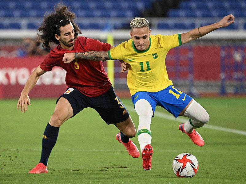 ฟุตบอลโอลิมปิก นัดชิงชนะเลิศ : บราซิล 2-1 สเปน (ET)