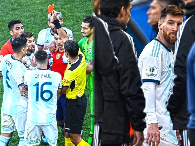 ลิโอเนล เมสซี่ จวก สหพันธ์ฟุตบอลอเมริกาใต้ ล็อกผลให้ บราซิล เป็นแชมป์โคปา