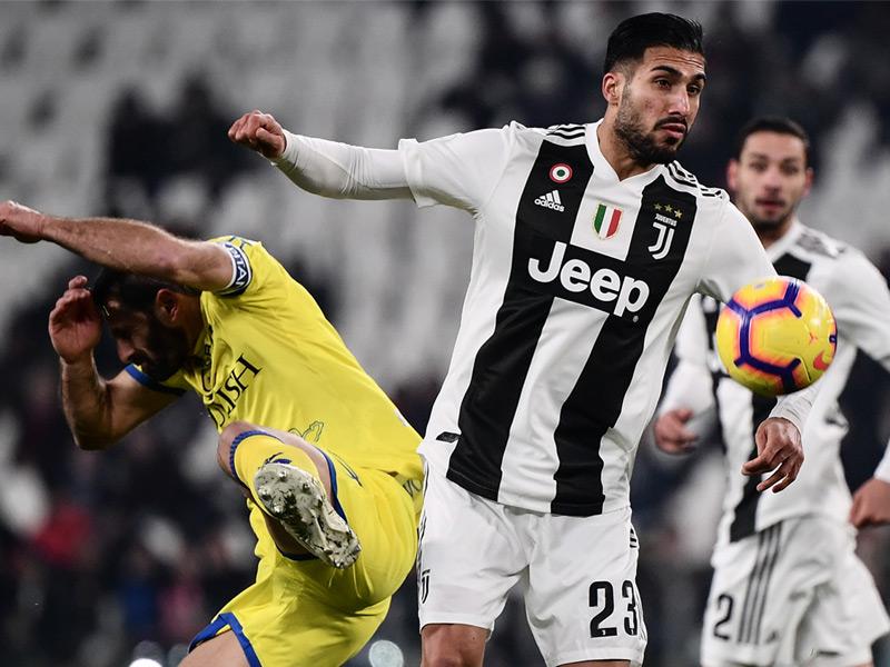 เซเรีย อา อิตาลี : ยูเวนตุส 3-0 คิเอโว่