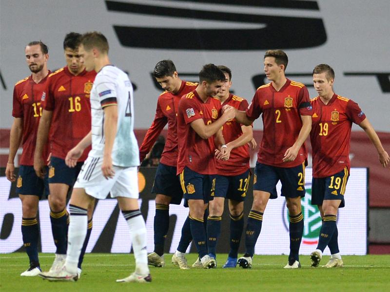 ยูฟ่า เนชั่นส์ ลีก : สเปน 6-0 เยอรมนี