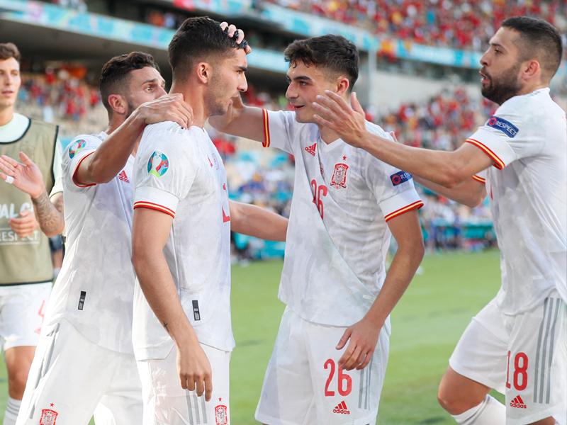 ยูโร 2020 : สโลวาเกีย 0-5 สเปน