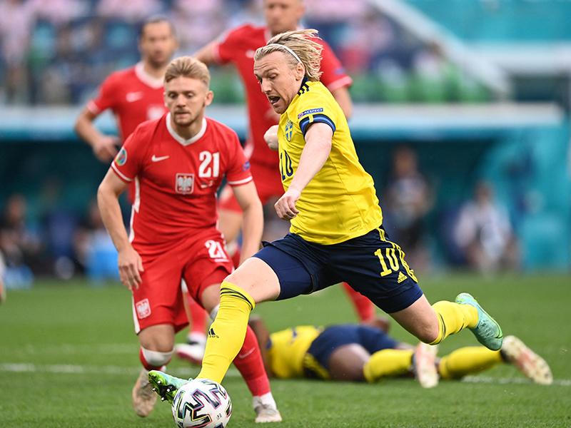 ยูโร 2020 : สวีเดน 3-2 โปแลนด์