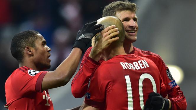 บาเยิร์น 4-0 โอลิมเปียกอส : พี่เสือ การันตีแชมป์กลุ่ม