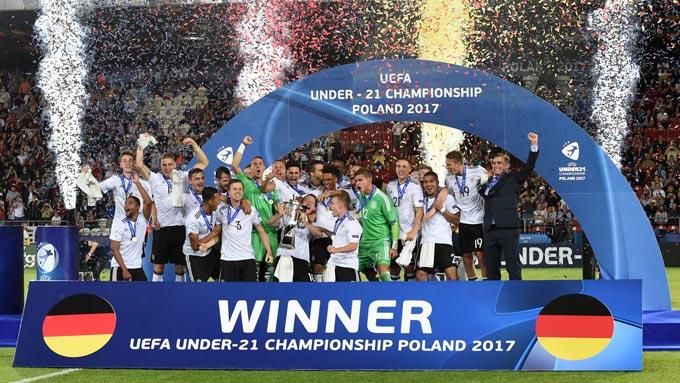ยู-21 ชิงแชมป์ยุโรป นัดชิงชนะเลิศ : เยอรมนี 1-0 สเปน