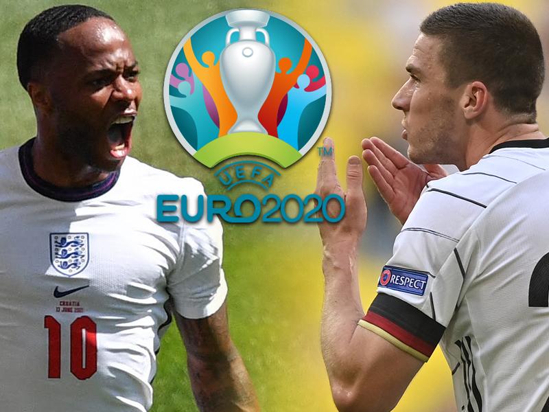 ผลประกบคู่รอบ 16 ทีมสุดท้าย ยูโร 2020 - อังกฤษ ซด เยอรมนี