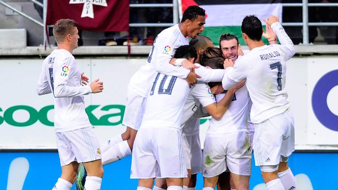 ลา ลีกา สเปน : เออิบาร์ 0-2 เรอัล มาดริด