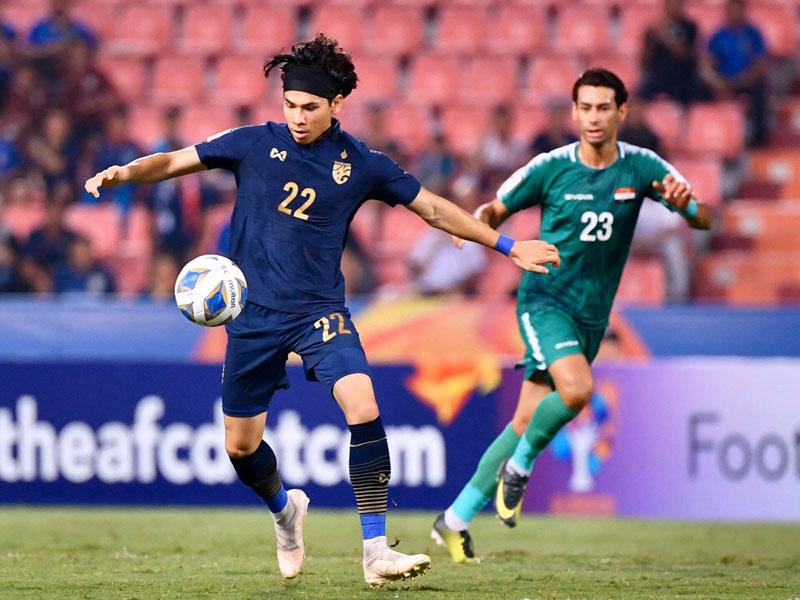 ยู-23 ชิงแชมป์เอเชีย 2020 : ไทย 1-1 อิรัก