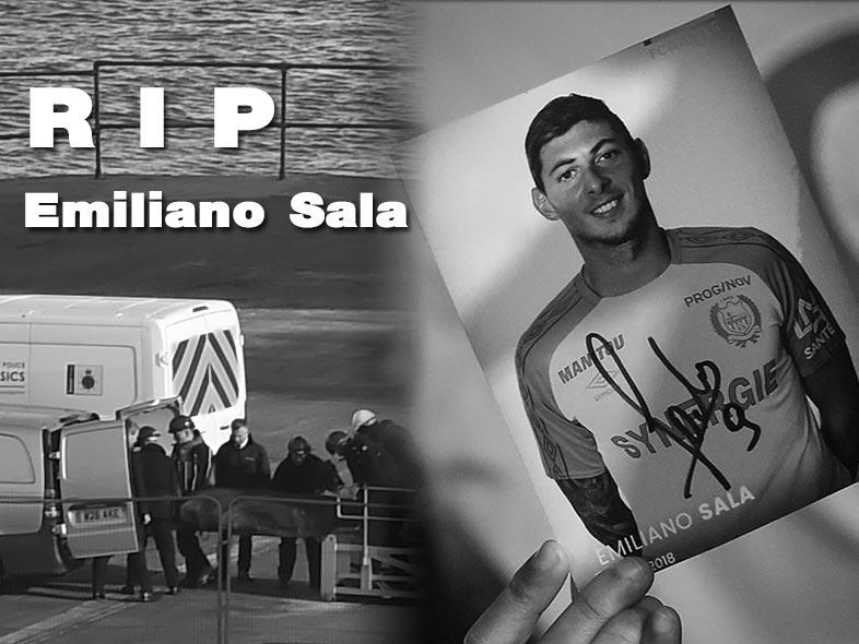 RIP .. เจ้าหน้าที่ตำรวจยืนยันแล้วร่างไร้วิญญาณคือ เอมิเลียโน่ ซาล่า