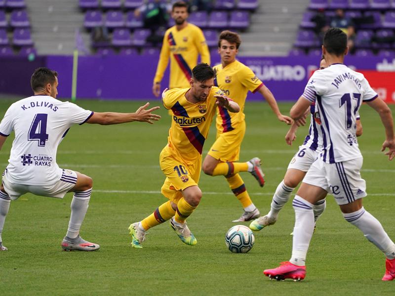 ลา ลีกา : เรอัล บายาโดลิด 0-1 บาร์เซโลน่า