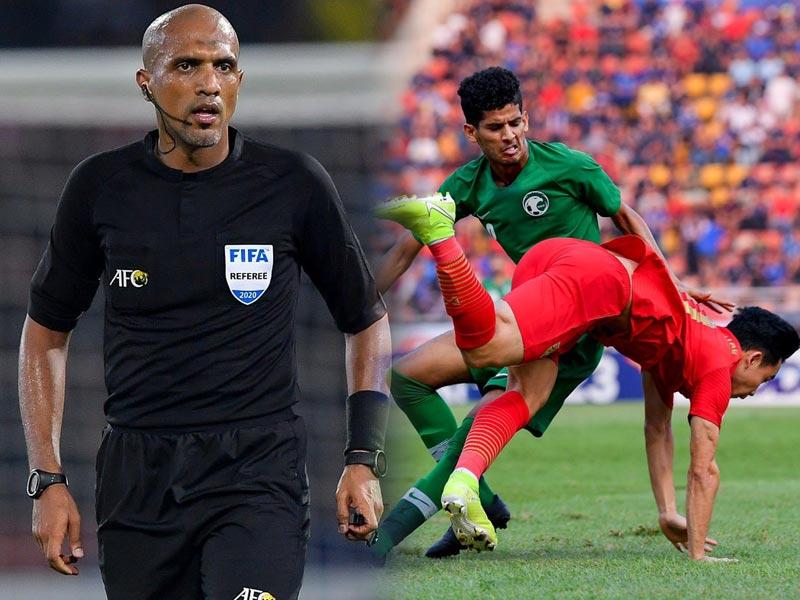 สมาคมฟุตบอล ยื่นหนังสือถึง AFC ช่วยพิจารณาผู้ตัดสินเกม ไทย พบ ซาอุฯ