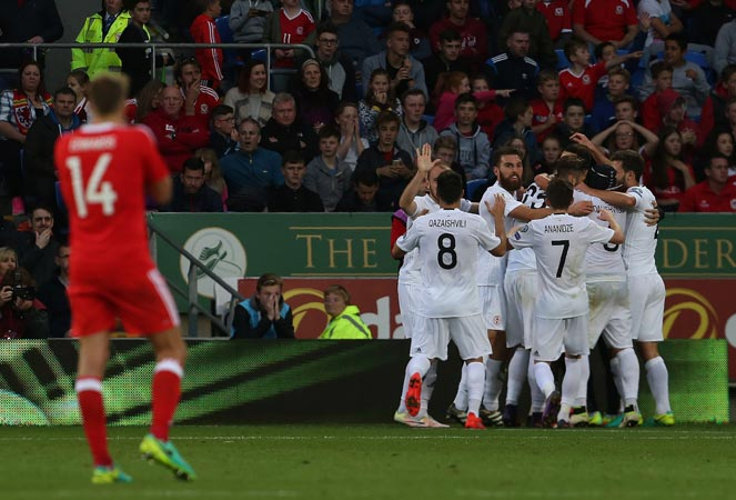 ฟุตบอลโลก 2018 รอบคัดเลือก : เวลส์ 1-1 จอร์เจีย