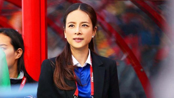 มาดามแป้ง โพสต์เปิดใจ หลังรับตำแหน่งผู้จัดการทีมฟุตบอลหญิงอีกคำรบ