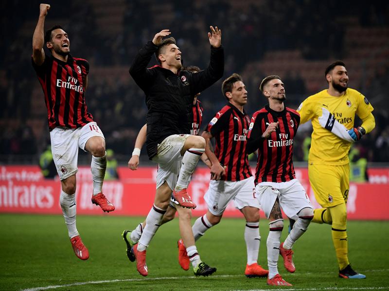 เซเรีย อา อิตาลี : มิลาน 3-0 เอ็มโปลี
