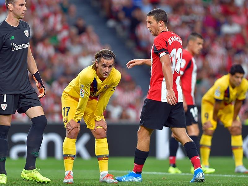 ลา ลีกา สเปน : แอธ.บิลเบา 1-0 บาร์เซโลน่า