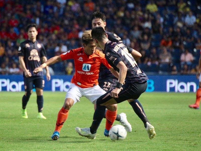 ไทยลีก : บุรีรัมย์ ยูไนเต็ด 6-0 ราชบุรี มิตรผล เอฟซี