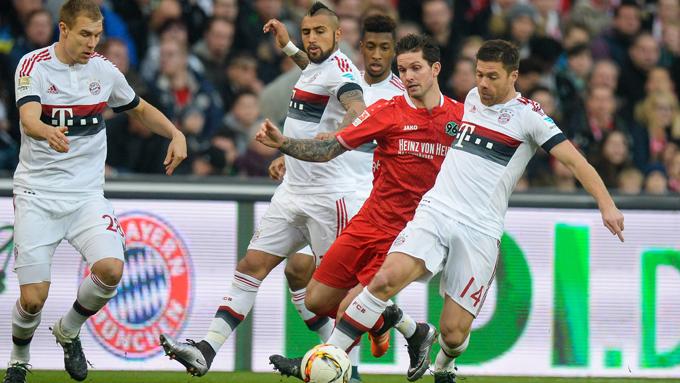 ฮันโนเวอร์ 96 0-1 บาเยิร์น : บุนเดสลีกา เยอรมนี