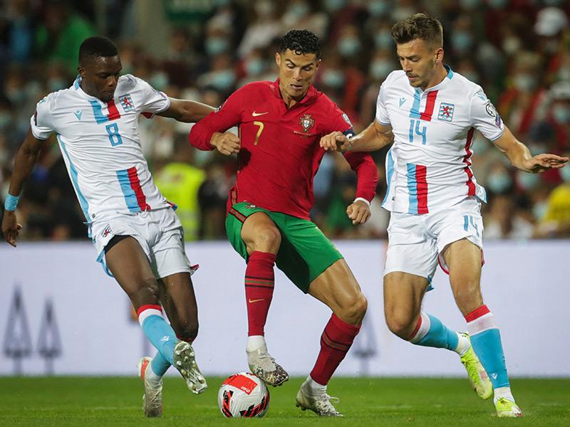 ฟุตบอลโลก 2022 รอบคัดเลือก : โปรตุเกส 5-0 ลักเซมเบิร์ก