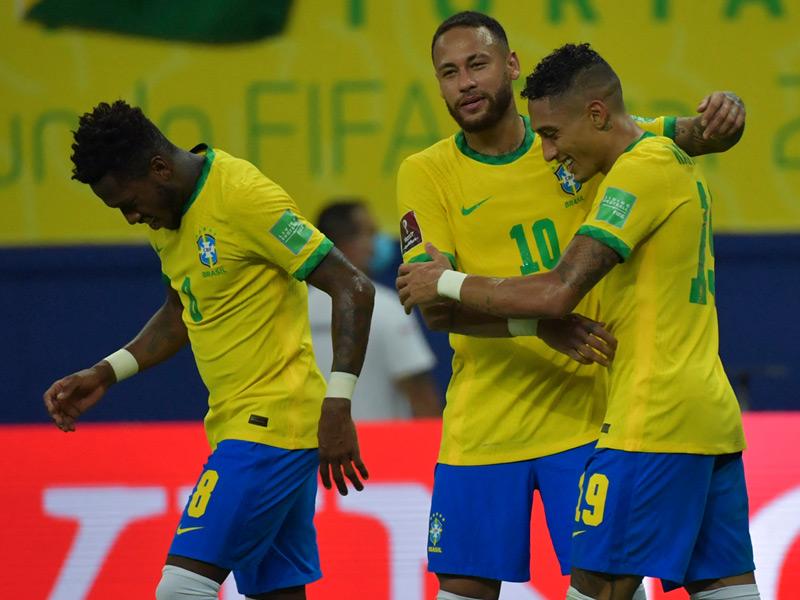 ฟุตบอลโลก 2022 รอบคัดเลือก : บราซิล 4-1 อุรุกวัย