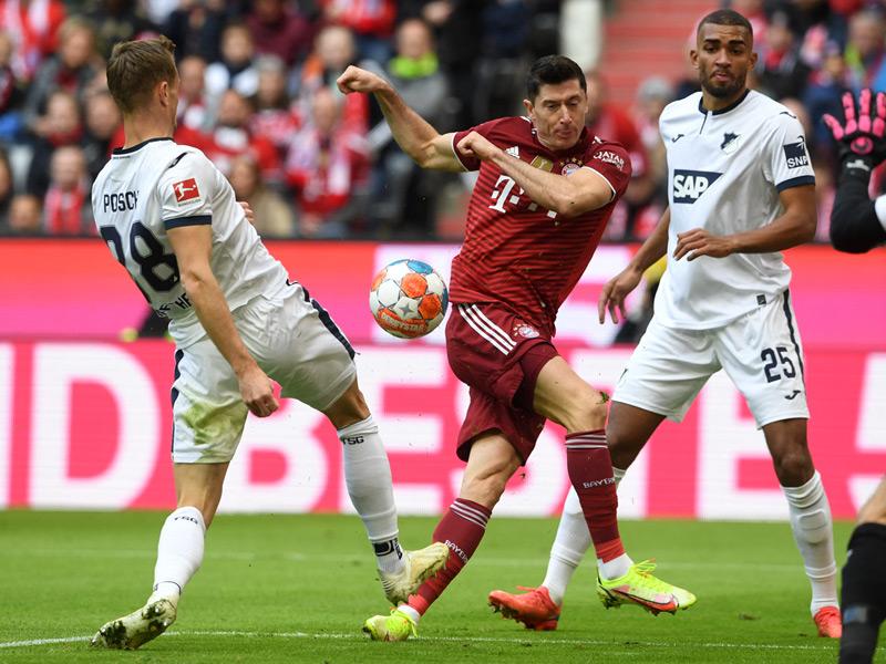 บุนเดสลีกา เยอรมนี : บาเยิร์น 4-0 ฮอฟเฟ่นไฮม์