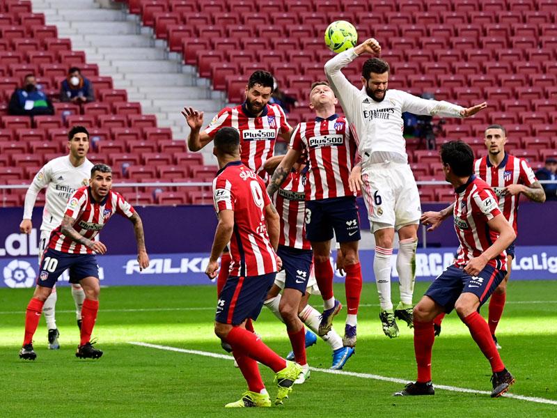 ลา ลีกา สเปน : แอต.มาดริด 1-1 เรอัล มาดริด