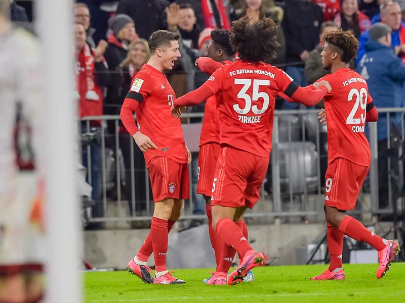 บุนเดสลีกา เยอรมนี : บาเยิร์น 3-2 พาเดอร์บอร์น