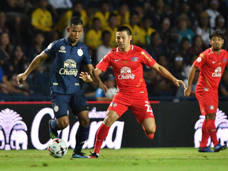 ไทยลีก : บุรีรัมย์ ยูไนเต็ด 4-0 ชลบุรี เอฟซี