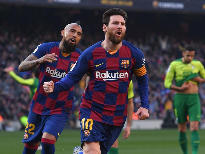 ลา ลีกา สเปน : บาร์เซโลน่า 5-0 เออิบาร์