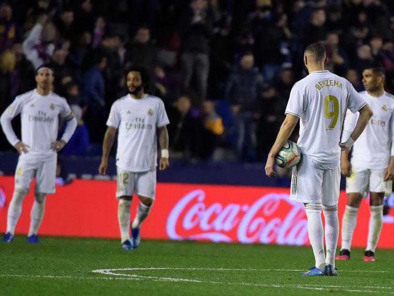 ลา ลีกา สเปน : เลบันเต้ 1-0 เรอัล มาดริด