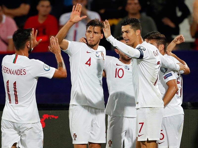 ยูโร 2020 รอบคัดเลือก : เซอร์เบีย 2-4 โปรตุเกส