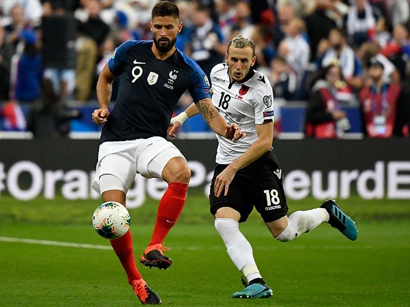 ยูโร 2020 รอบคัดเลือก : ฝรั่งเศส 4-1 แอลเบเนีย