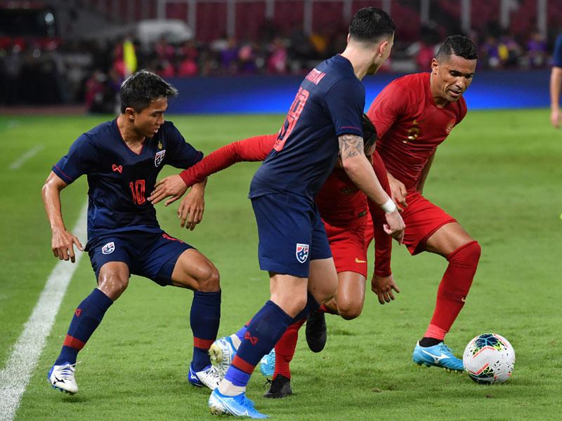 ฟุตบอลโลก 2022 รอบคัดเลือก โซนเอเชีย : อินโดนีเซีย 0-3 ไทย