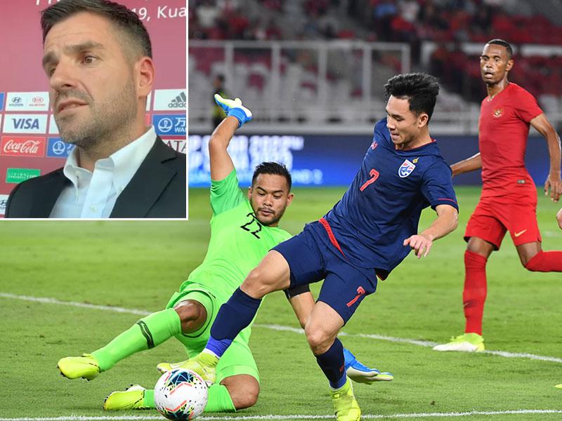 กุนซืออินโดนีเซีย รับตกใจแฟนบอลโห่ใส่ทีมตัวเอง