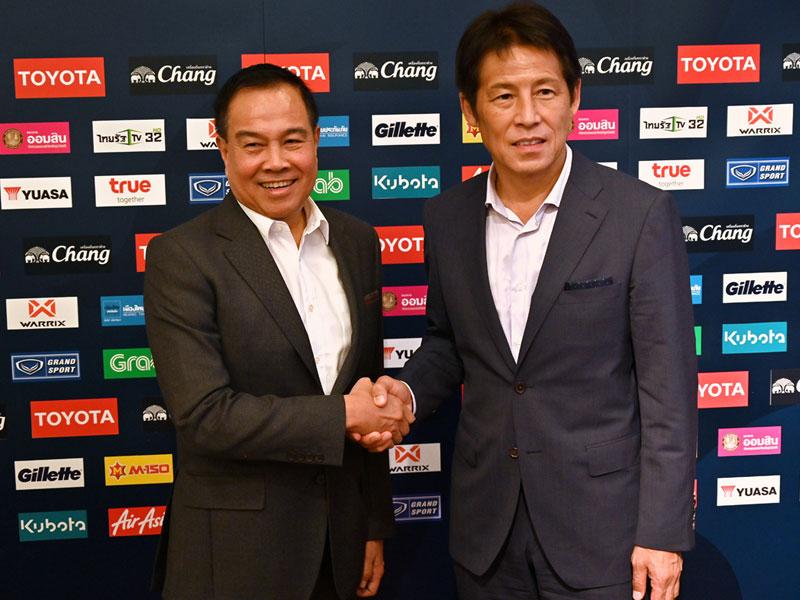 บิ๊กอ๊อด พอใจผลงาน นิชิโนะ พร้อมให้อิสระในการยกระดับ ทีมชาติไทย เต็มที่